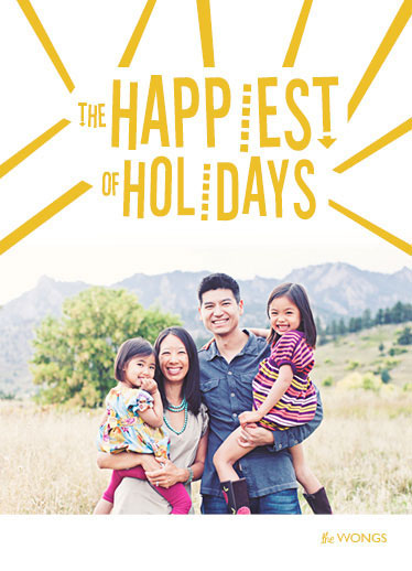 holiday photo cards - All Smiles this Holiday Season by Maria E