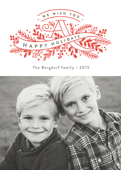 holiday photo cards - Banner Holiday by Jennifer Wick