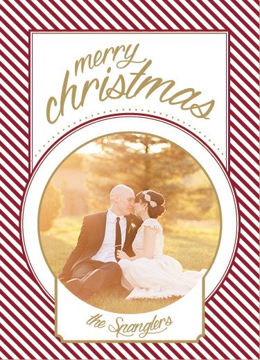 holiday photo cards - Christmas Candy by Kathleen Spangler