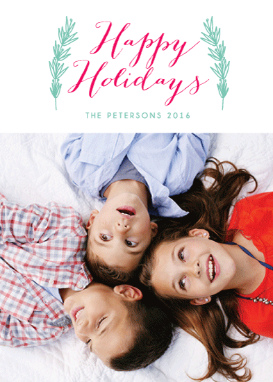 holiday photo cards - warmth of holiday by aticnomar