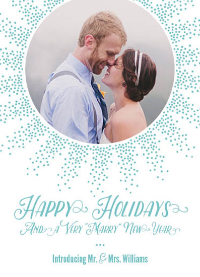 holiday photo cards - Very Marry by Paula Riley