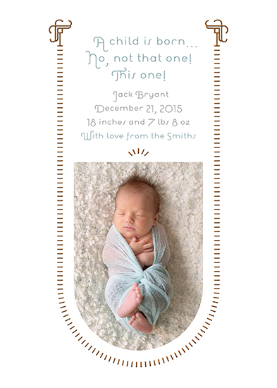 holiday photo cards - Baby Swing by Robin A. Brun