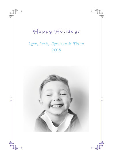 holiday photo cards - Classy & Sassy by Robin A. Brun