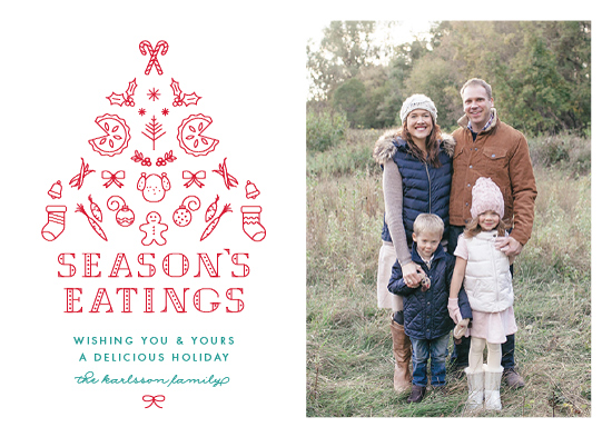 holiday photo cards - For the foodie by Ling Wang