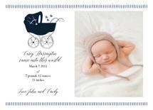 Baby Boy Carriage by Nancy Jeanne Morlino