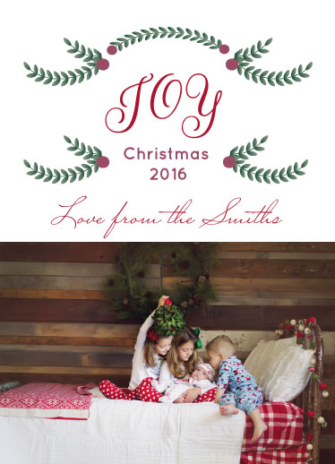 holiday photo cards - Children Christmas  Joy by Nancy Jeanne Morlino