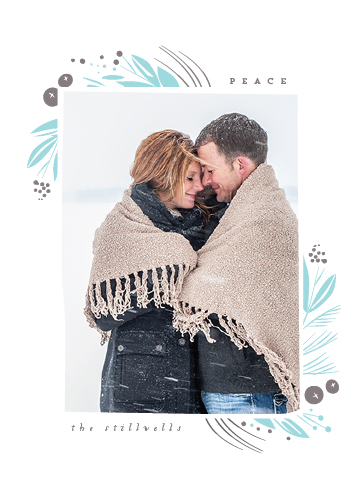 holiday photo cards - Framed Moment by Lori Wemple