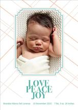 Peace Love Joy by Khana Design