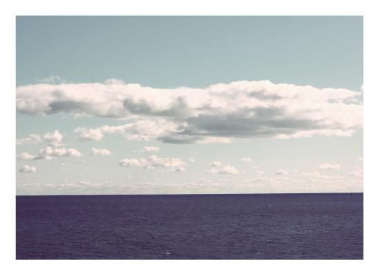 art prints - The Calm Sea by Gray Star Design