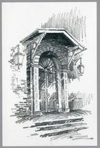A Church Door by Jarey Lu