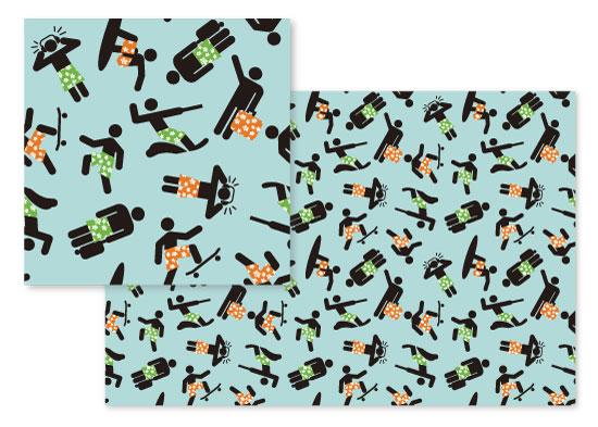 fabric - Hobbies by Leebert