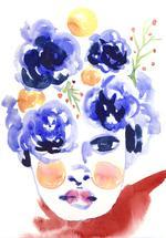 Blue Doll by Miren