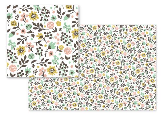 fabric - Summer Garden by Jess Phoenix