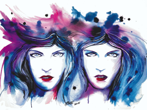 art prints - Gemini by Nathan Dixon