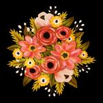 Antique Floral by Raybo Design