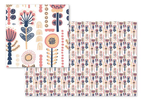 fabric - Vieno by Petra Santaharju