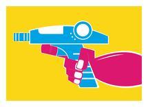 Ray Gun XXOOU by Shawn Holloway