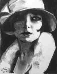 art prints - Silent Actress by Nathan Dixon
