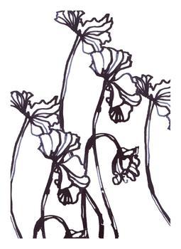 Ink Cyclamen