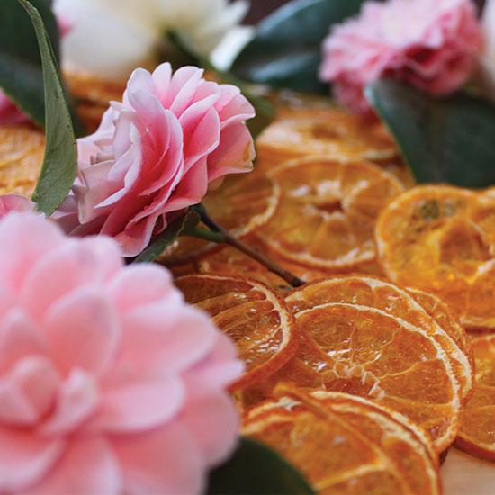 art prints - Orange Blush by La Fleur Kitchen
