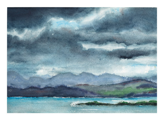 art prints - Cloud Symphony Ring of Kerry Ireland by Eva Marion
