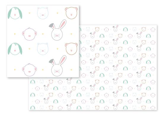 fabric - Little Big Dreams by Aurora Tellez