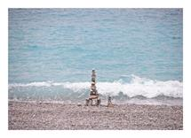 Stones Pyramid by Damla CILDIR