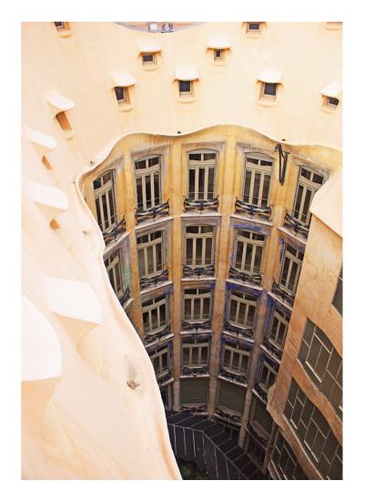 art prints - Gaudi Shell by Damla CILDIR