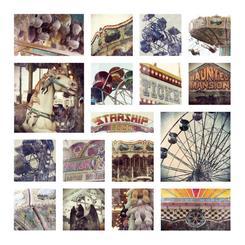 Vintage Carnival Collage