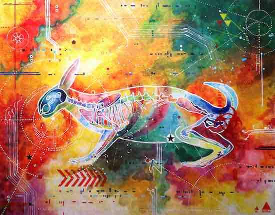 art prints - White Rabbit by Wrara