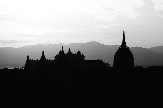 art prints - Bagan B&W by Timothy Cochran