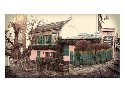 art prints - Parisian Cottage by Studio Celeste