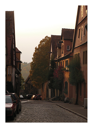 art prints - Medieval street by Studio Celeste