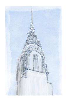 Chrysler Building Unfinished Illustration