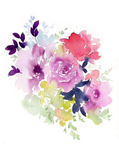 art prints - Summertime Blooms by Stephanie Fehrenbach