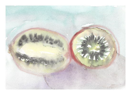 art prints - Fruity Pastels by Matilda