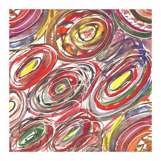 art prints - Circled Brights by Matilda