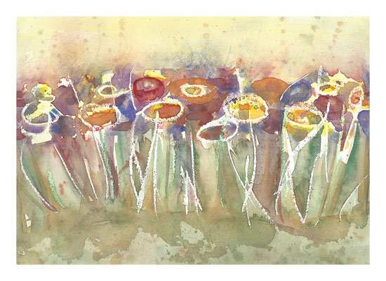 art prints - Summer Field by Matilda