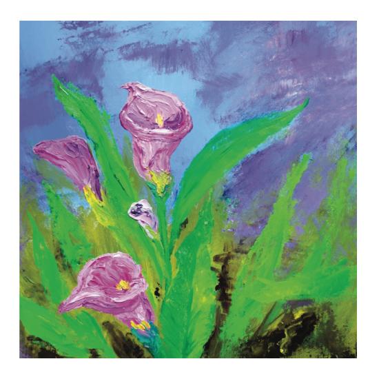 art prints - The Calla Lily Dance by Lisa Muhs