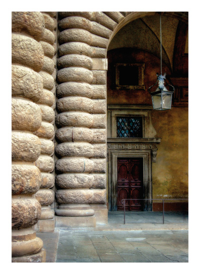 art prints - Italian Portal by June Czerwinski
