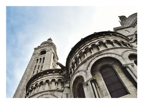 art prints - Sacre Coeur 2 of 2 by Julie Darrell