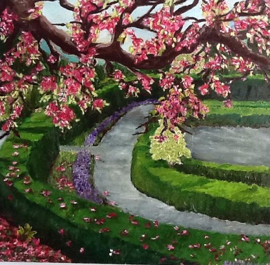 art prints - Brooklyn Park by Susannah Raine-Haddad