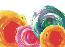 Watercolor Flowers by Bri Santacaterina