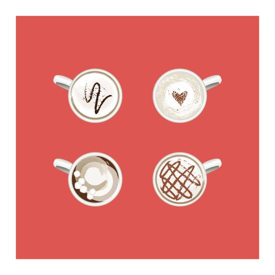 art prints - The World of Espresso by Bri Santacaterina