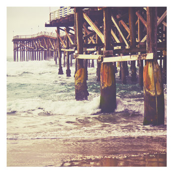 art prints - Pier Perspective by Misty Diller
