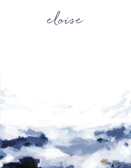 personal stationery - Eloise by Katie Craig