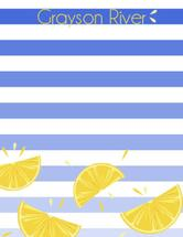 Citrus Stripes by Brittany Ghio