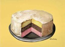 Neapolitan Cake by JJ Galloway Studio