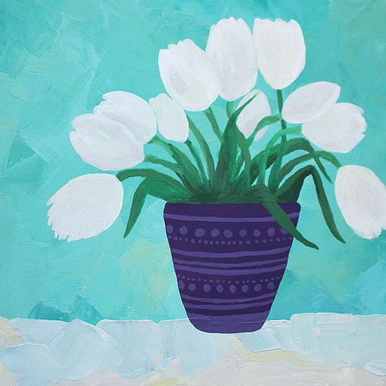 art prints - Evening Arrangement by Lauren Young