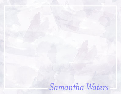 personal stationery - Watercolor Wash by Brittany Ghio